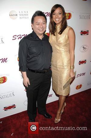 Rex Lee and Eva Larue