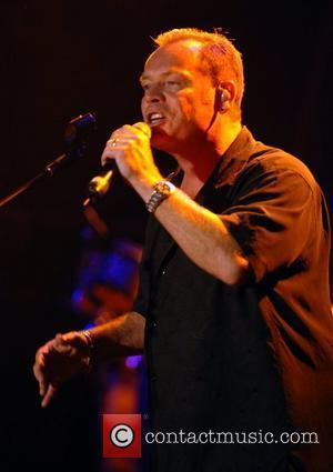 UB40  perform their Reggae music to begin a series of gigs in the grounds of Bowood House Wiltshire, England...