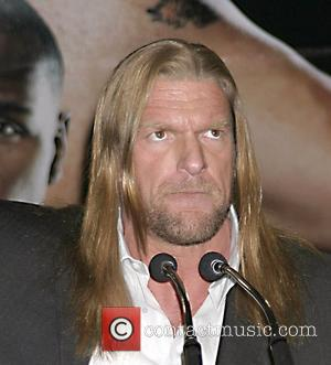Triple H  Press conference at the Hard Rock Cafe Times Square for WrestleMania XXIV taking place on Sunday, March...