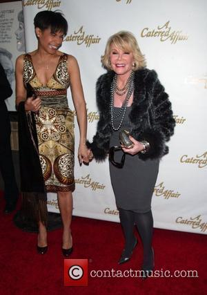Allyson Tucker and Joan Rivers