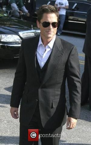Rob Lowe ABC Upfronts held at Lincoln Centre - Arrivals New York City, USA - 15.05.07