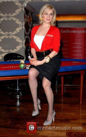 Abi Titmuss  The launch of ladbrokespoker.com European Ladies poker Championships held at Ladbrokes Casino London, England - 08.04.08