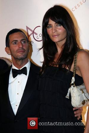 Marc Jacobs and Helena Christensen