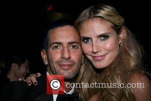 Marc Jacobs and Heidi Klum