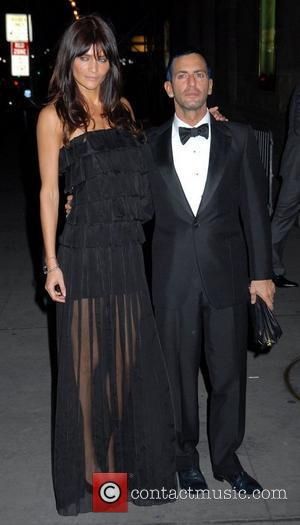 Helena Christensen and Marc Jacobs