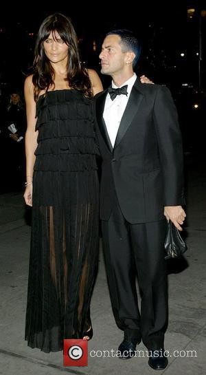 Helena Christensen and Mark Jacobs