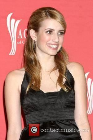 Emma Roberts The Academy of Country Music Awards , ACM awards, at MGM Grand Garden Arena - Pressroom Las Vegas,...