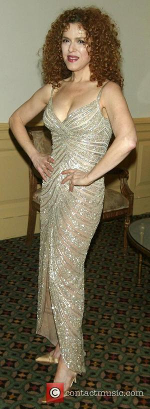 Bernadette Peters wearing Bob Mackie. The Acting Company's 35th Anniversary Celebration held at Cipriani Wall Street. New York City, USA...
