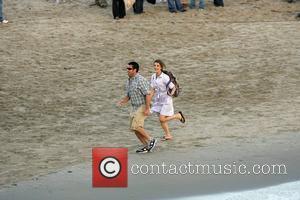 Adam Sandler and Keri Russell