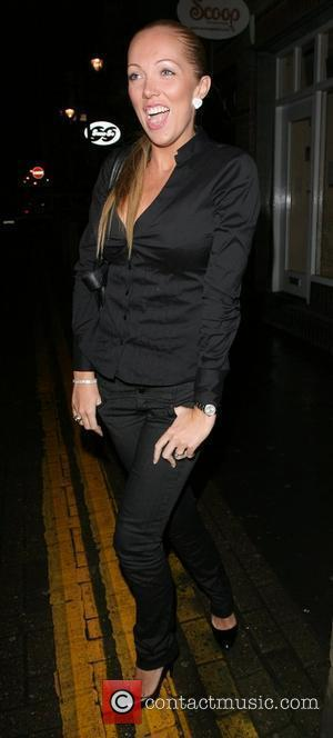 Aisleyne Horgan-Wallace with a spotty face,  Adee Phelan Salon launch party London, England - 27.11.07