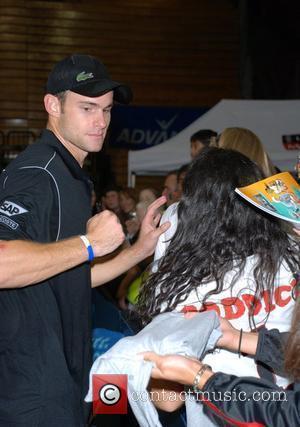 Andy Roddick 15th annual 'Advanta World TeamTennis Smash Hits' at the Villanova University  Villanova, Pennsylvania - 10.10.07