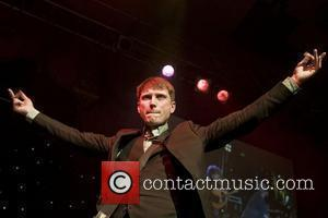 Alex Kapranos of Franz Ferdinand performing with Africa Express at Liverpool Olympia  Liverpool, England - 06.03.08