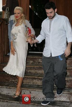 Christina Aguilera and Jordan