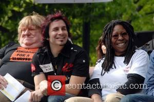 Bruce Vilanch, Hal Sparks and Whoopi Goldberg  22nd Annual AIDS Walk New York in Central Park New York City,...