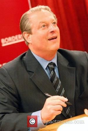 Former United States Vice President Al Gore promoting his new book 'The Assault On Reason' at Borders Chicago, Illinois -...