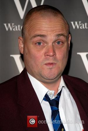 Al Murray signs copies of his literary debut book 'The Pub Landlord's Book Of British Common Sense' at Waterstone's Leadenhall...