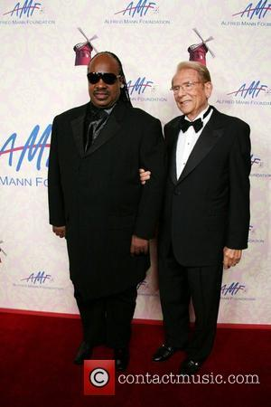 Stevie Wonder, Alfred Mann The Alfred Mann Foundation Gala held at the Millenium Biltmore Hotel Los Angeles, California - 29.09.07