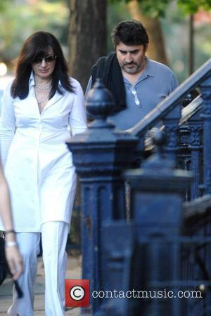 Alfred Molina and friend go for a stroll New York City, USA - 11.07.08