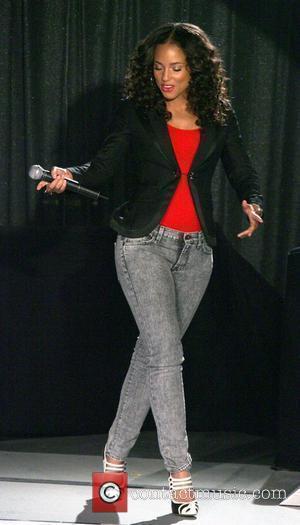 Alicia Keys hosting '106 & Park' New York City, USA - 23.04.08
