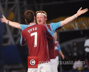 Geoff Bell  at the Premier League All Stars event - West Ham United vs Wigan Athletic. London, England -...