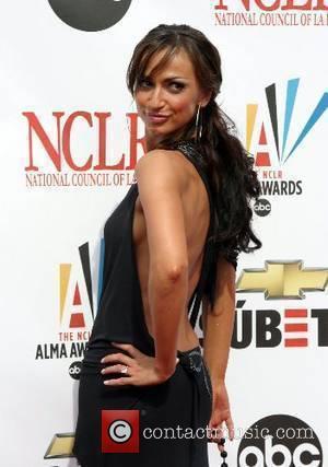 Karina Smirnoff 2007 NCLR ALMA Awards held at the Civic Center- Arrivals Pasadena, California - 01.06.07