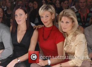 Lindsay Stoppard, Liz Fuller and Hofit Golam  London Fashion Week Spring/Summer 2008 - The Amanda Wakeley Catwalk Show London,...