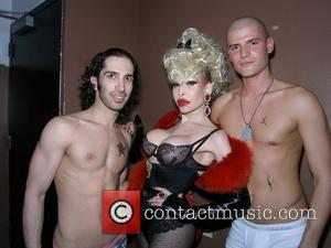 Amanda Lepore DJ Chip Duckett's birthday soiree at the grand re-opening of Pop Rocks! at Pink New York City, USA...