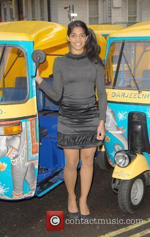 Amara Karan poses to promote her new film 'The Darjeeling Limited.' London, England - 21.11.07