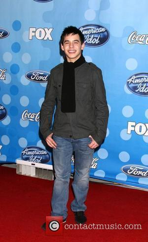 David Archuleta American Idol Top 12 Party arrivals held at Wolfgang Puck at the Pacific Design Center Los Angeles, California...