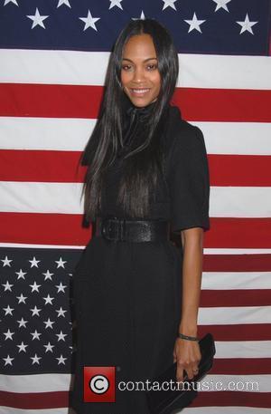 Zoe Saldana JC Penny celebrates the launch of American Living - Inside New York City, USA - 19.02.08