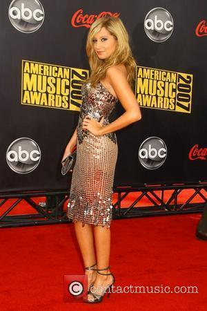 Ashley Tidesdale 2007 American Music Awards held at the at the Nokia Theatre - Arrivals Los Angeles, California - 18.11.07