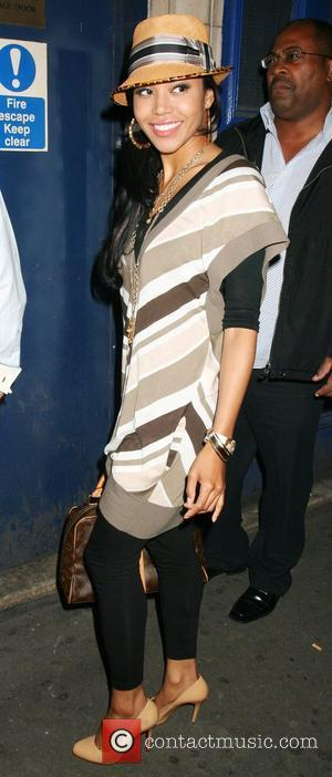 Amerie arriving at cafe de paris for the launch of her new single London, England - 20.07.07