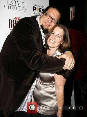 Penn Jillette and Emily Jillette 'An Evening of Love' benefiting the Bare Feet Foundation (pies Descalzos Foundation) at the Palms...