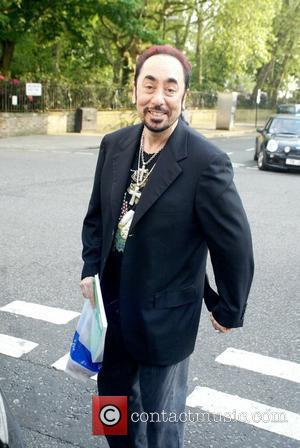 David Gest shopping at Carluccio's London, England - 09.05.08