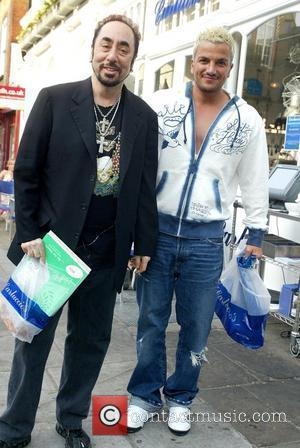 Peter Andre and David Gest