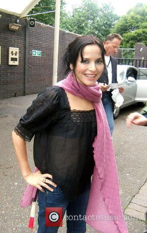 Andrea Corr leaving a London Studio and signing autographs for the crowd London, England - 24.08.07