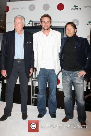 Robert Siegel and Andy Roddick