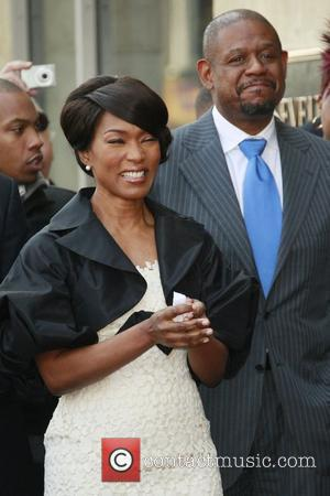 Angela Bassett, Forest Whitaker, Star On The Hollywood Walk Of Fame and Walk Of Fame