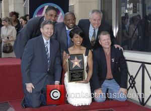 Rick Fox, Forest Whitaker, Star On The Hollywood Walk Of Fame and Walk Of Fame