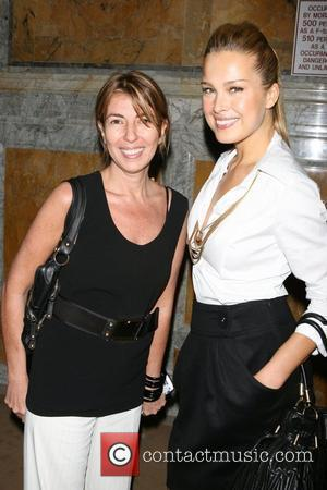 Nina Garcia and Petra Nemcova