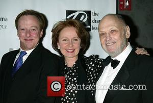 Edward Hibbert and Kate Burton