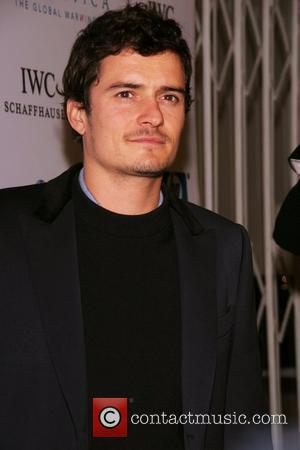 Orlando Bloom Gallery Opening for 'Antarctica: The Global Warning' featuring images by Sebastian Copeland at The Jan Kesner Gallery Los...