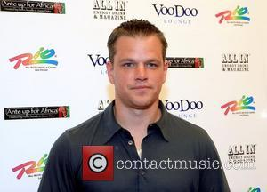 Matt Damon, Celebrity Poker Event ' Ante Up For Africa ', The Inaugural Celebrity Poker Event, Rio All-suite Hotel