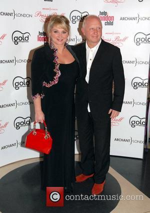 Cheryl Baker and Steve Stroud The Archant Press Ball held at The Brewery - Arrivals London, England - 17.11.07