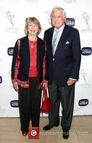 Monty Hall and Wife 10th Anniversary of the Archive of the American TV held at the Crustacean Restaurant Beverly Hills,...
