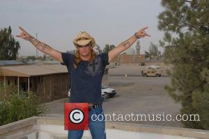 Bret Michaels visits Camp Anaconda in Balad, Iraq Armed Forces Entertainment Tour with Bret Michaels Balad, Iraq - 02.10.07-12.10.07