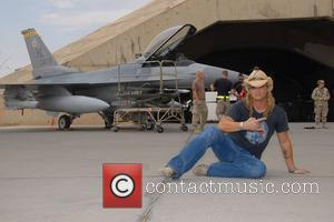 Bret Michaels visits a military hospital in Camp Arifjan in Kuwait Armed Forces Entertainment Tour with Bret Michaels Arifjan, Kuwait...