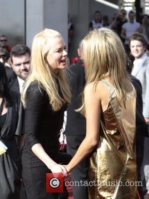 Nicole Kidman and Delta Goodrem