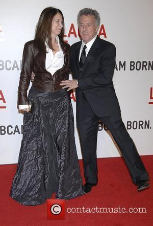 Dustin Hoffman and Lisa Gottsegen Arrivals LACMA Opening celebration of the Broad Contemporary Art Museum Los Angeles, USA - 09.02.08