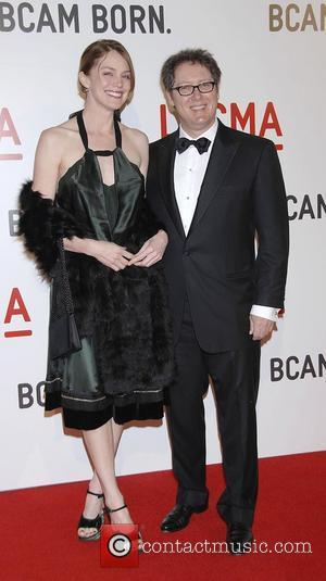 James Spader and Leslie Stefanson Arrivals LACMA Opening celebration of the Broad Contemporary Art Museum Los Angeles, USA - 09.02.08